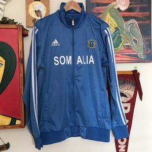 VINTAGE SOMALIA NATIONAL TEAM TRACK JACKET SIZE M